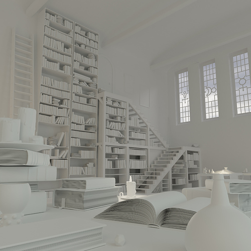 Library_clay