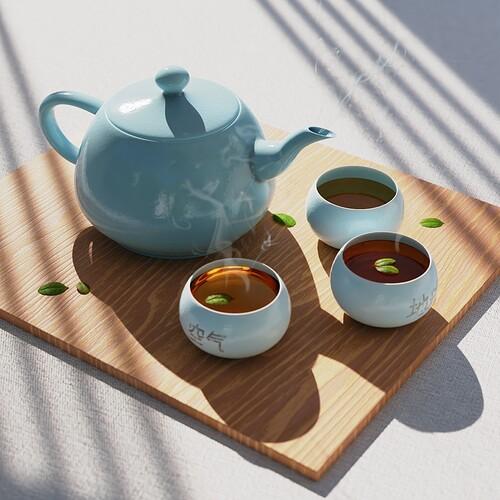 Tea Render (Best Result)