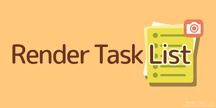 Render Task List_package