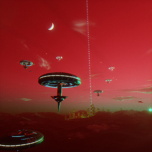 HazelQ: Scarlet Sky