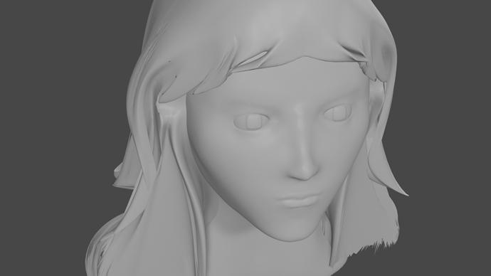 First Sculpt-render