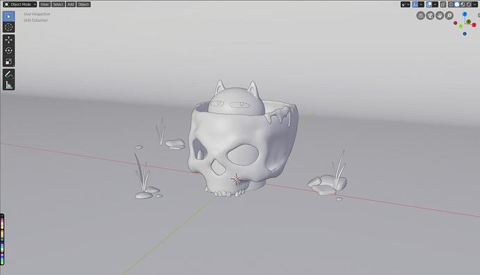 skull-cat-clay