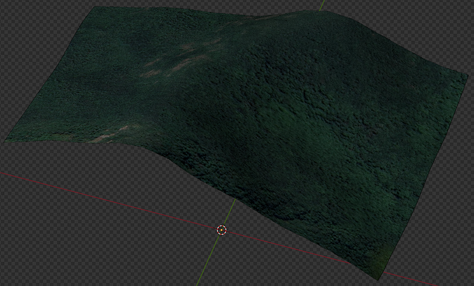 1 - Textured mesh with height
