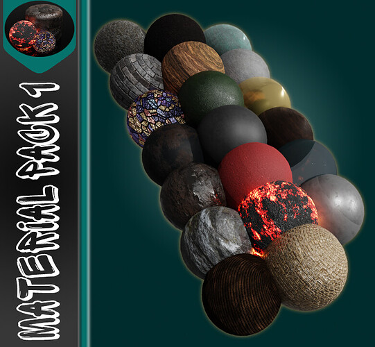 Blender 2.9 Free Material & Texture Download 🎁( Pack 1 )🎁 5