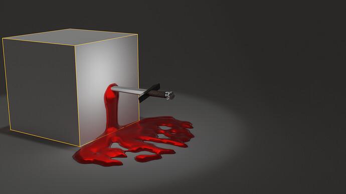 Default cube delete