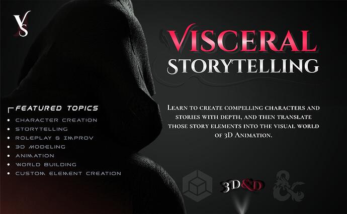 VISCERAL Storytelling Poster Alt