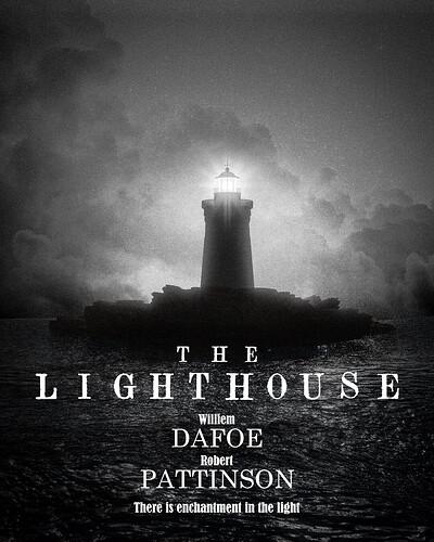 the lighthouse v2 poster