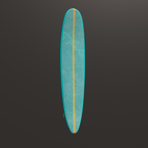 surfoard-waxed