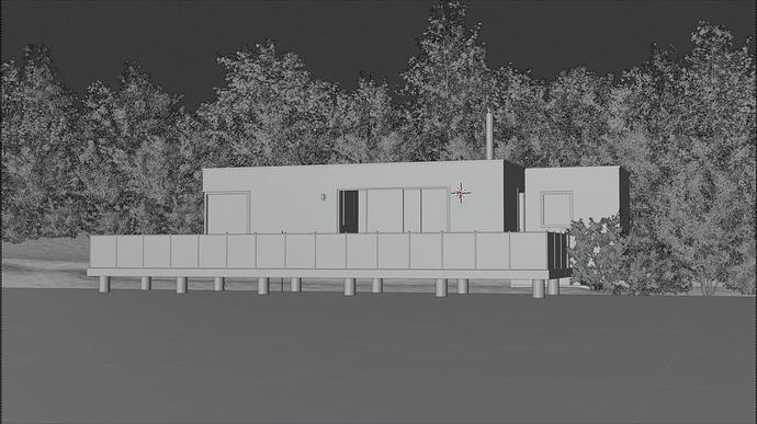 BUCKS COPPICE - modelisation
