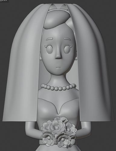 bridesolidveil032020