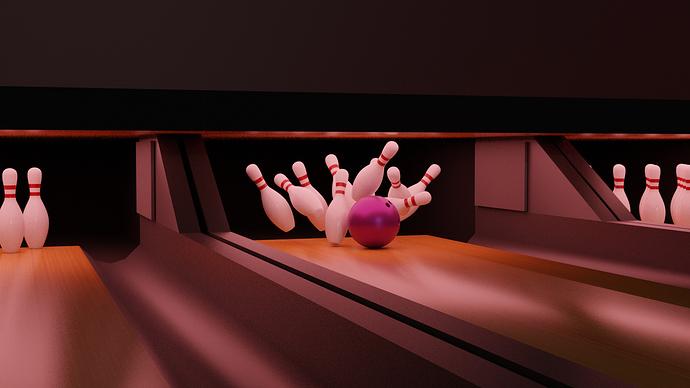 Bowling-Scene-Strike