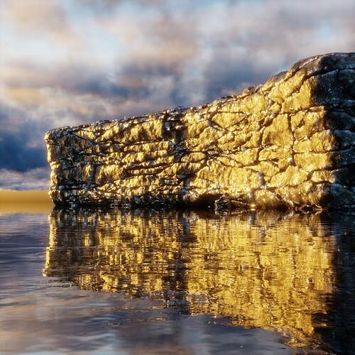 golden seawall
