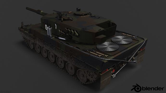 Leopard2A4-PolishArmedForces-backvw