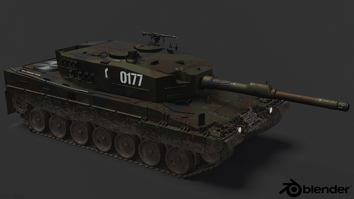 Leopard2A4-PolishArmedForces-sidevw