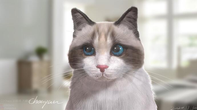 girl cat 01