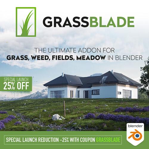 grassblade_blender_addon social