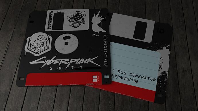Floppy disk (CyberPunk) 03