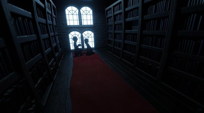 librarydark
