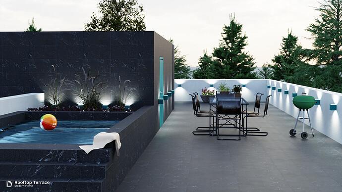 Modern Home - Rooftop