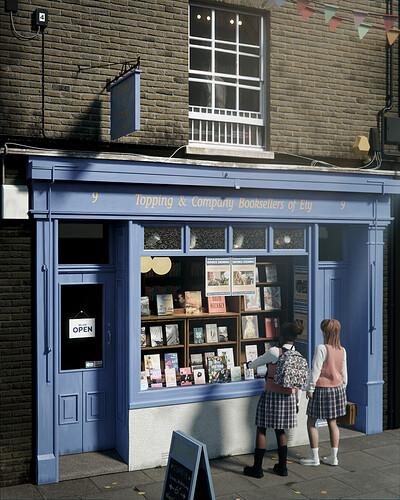 Bookshop in Ely - UK - optimisee 02