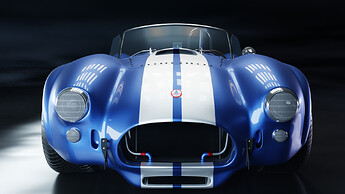 Shelby Cobra 427 Front Angle fhd