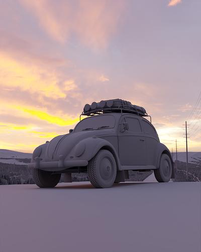 Roadside Beetle #3_CLAY