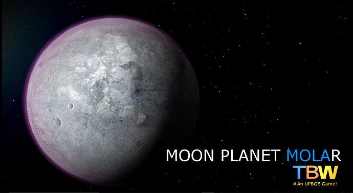 TBW - Planet Moon  Molar