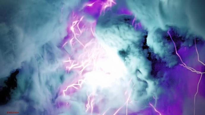 Lightning storm Violence