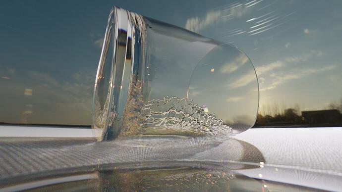 Under A glass