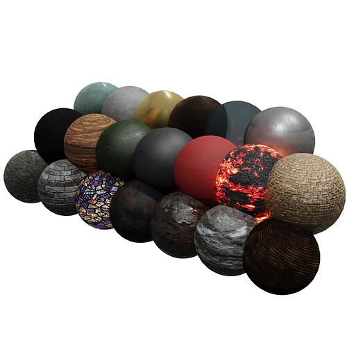 Blender 2.9 Free Material & Texture Download 🎁( Pack 1 )🎁 4