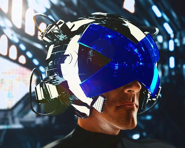 Professor X Helmet HERO-film grain