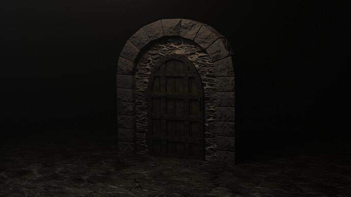Medieval Door Full Course