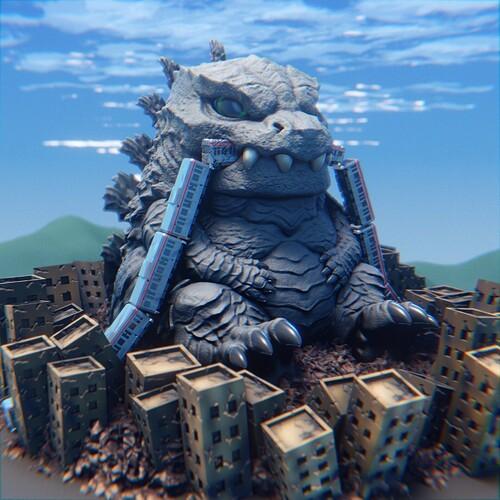 Godzilla_afternoon