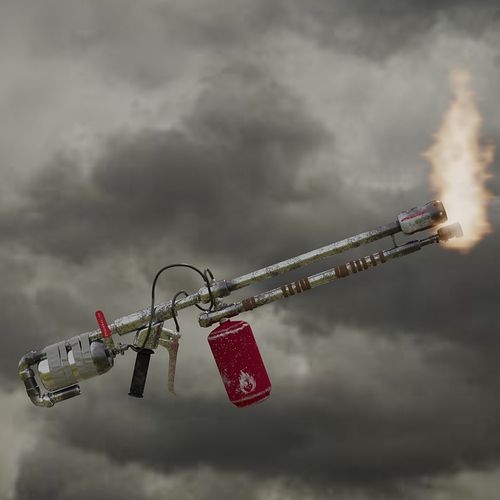flamethrower item