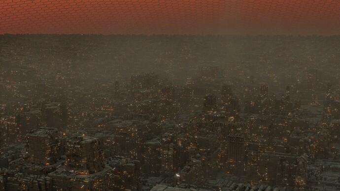 greeble city no world lighting