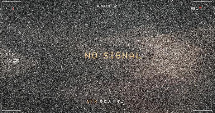 signal gone