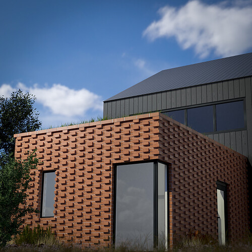 cladding - bricks 01 - optimise