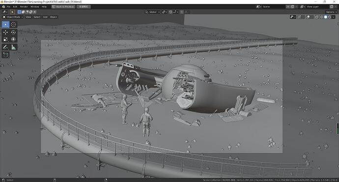 theWreckageOfShip_model