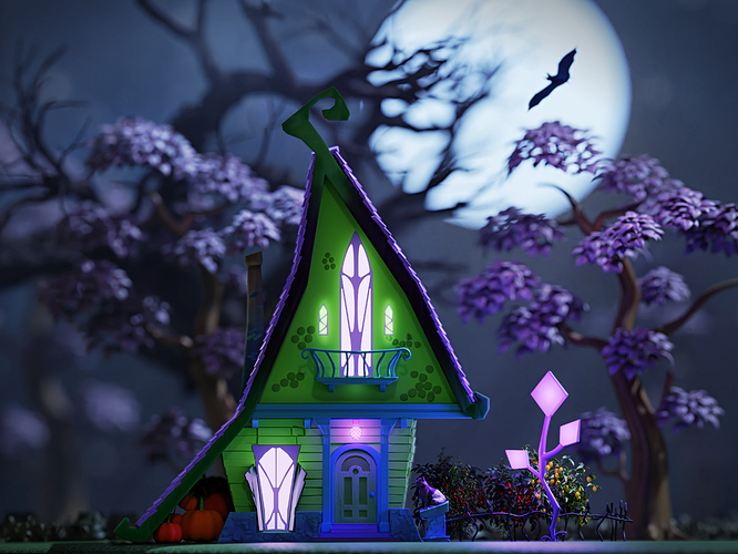 Witch_House_Cycles