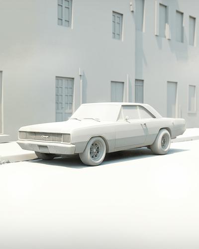 Dodge Dart #4_CLAY