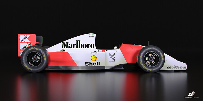 McLaren MP4-8 2