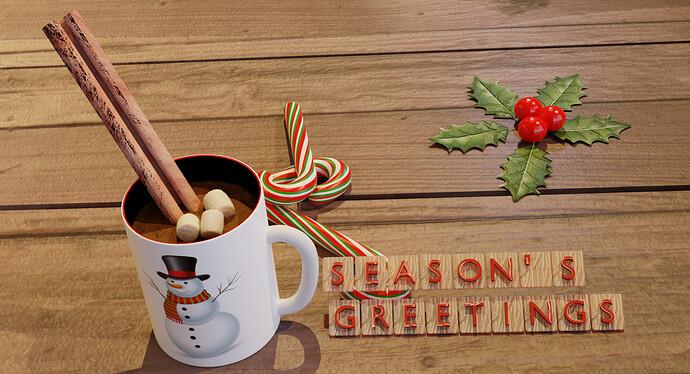 292 Test light  Christmass Hot Chocolate SeasonsGreetings Cycles _12-03