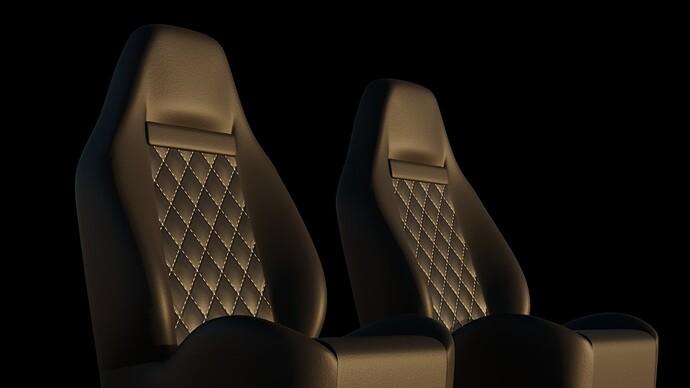 Leather w Pattern
