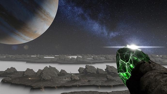 Galactic emerald 8k AE