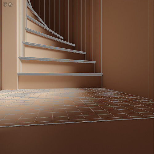 DramaticApartment_ClayRender3_ClayWire