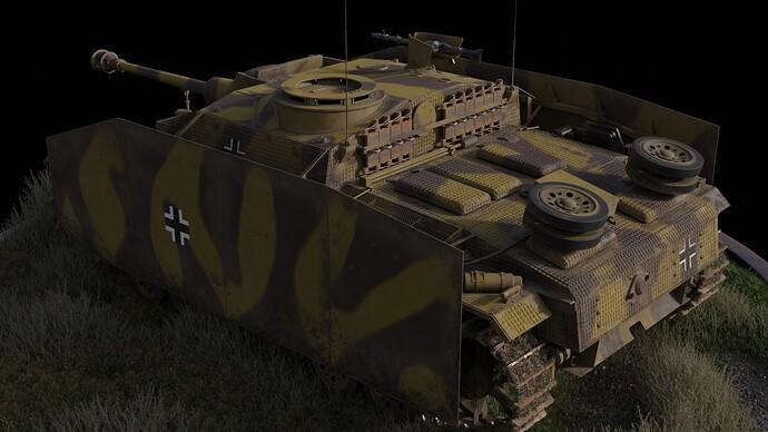 STUG III AUSF G 0023