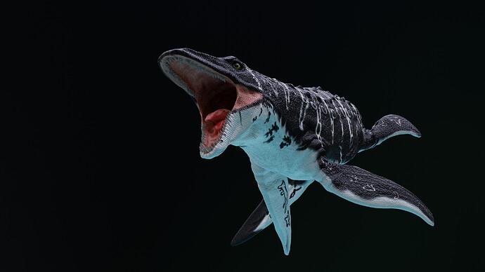 Mosasaurus 3