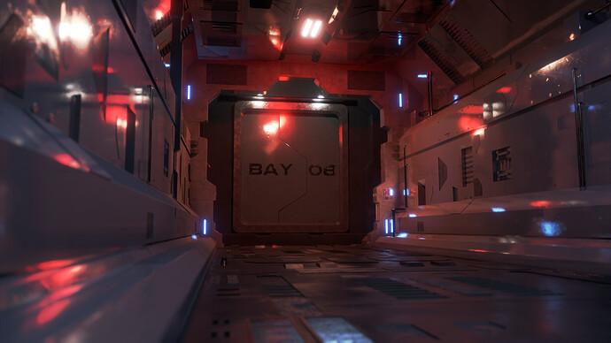 Sci-Fi Corridor 10