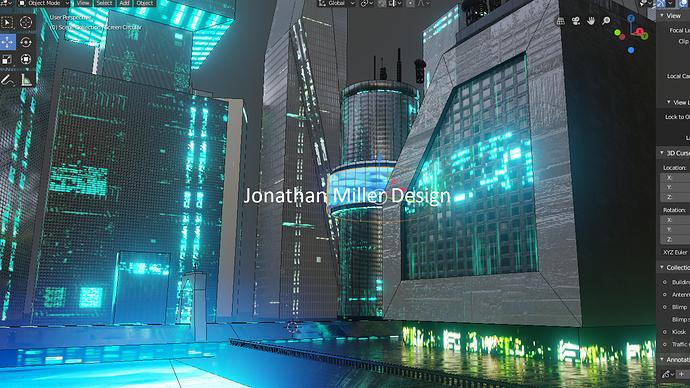 JMD Blade Runner Tribute Screen Capture River