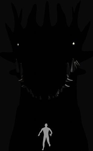 Dragonsillouette